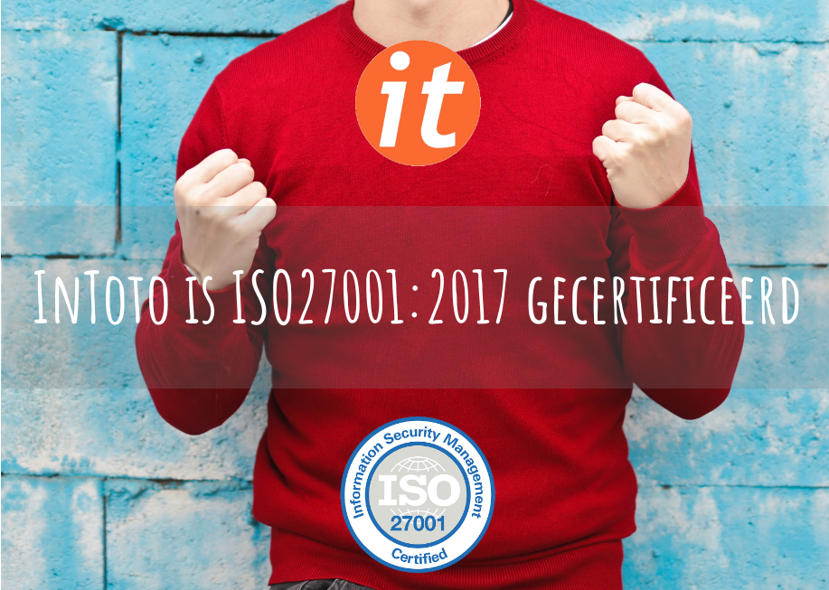 InToto is ISO27001-gecertificeerd