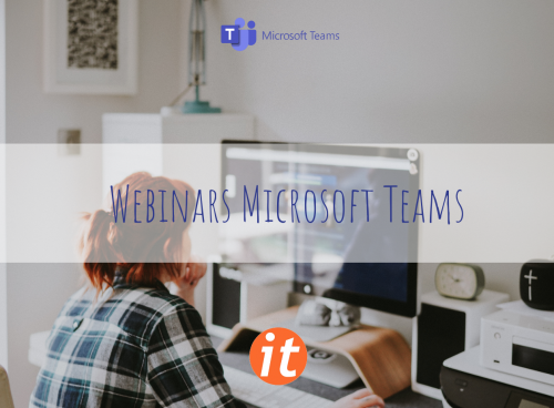 Webinairs via Microsoft Teams